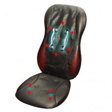 Роликовое автомобильное массажное сиденье RestArt N-078 с автоприкуривателем