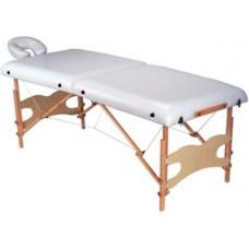 Складной массажный двухсекционный стол MK-15- чемодан