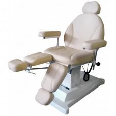 Педикюрно-косметологическе кресло МД-03 один мотор
